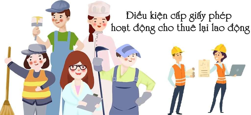 dieu kien cap giay phep cho thue lao dong